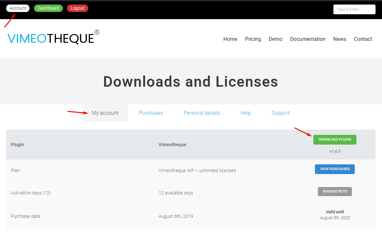 Vimeotheque WP PRO plugin download